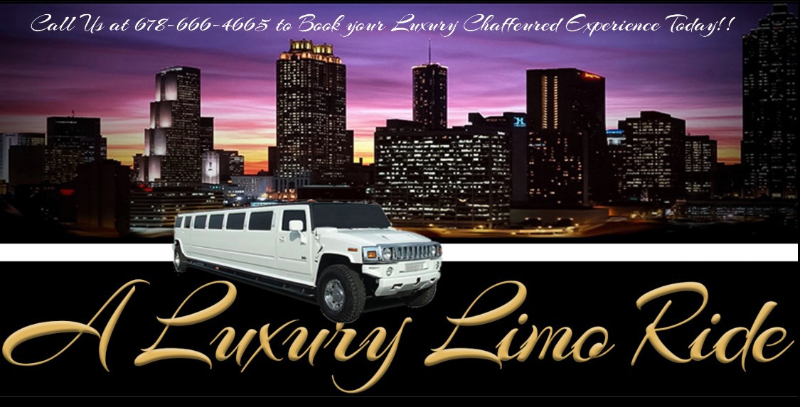 A LUXURY LIMO RIDE